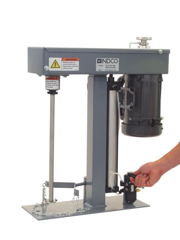 1/2 HP Explosion Proof Electric Benchtop Disperser - image 2