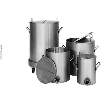100-Gallon 304 Stainless Steel Mixing Vat - image 2
