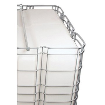 "330-Gallon IBC Bulk Container with 2"" NPT Butterfly Valve"