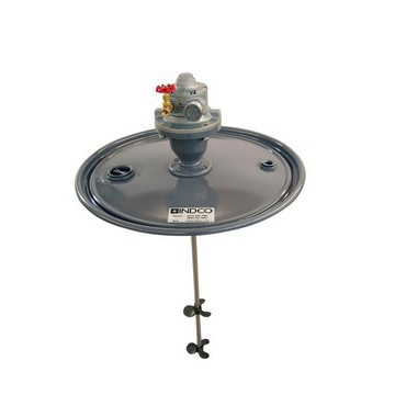 3/4 HP Air Direct Drive Drum Lid Mixer
