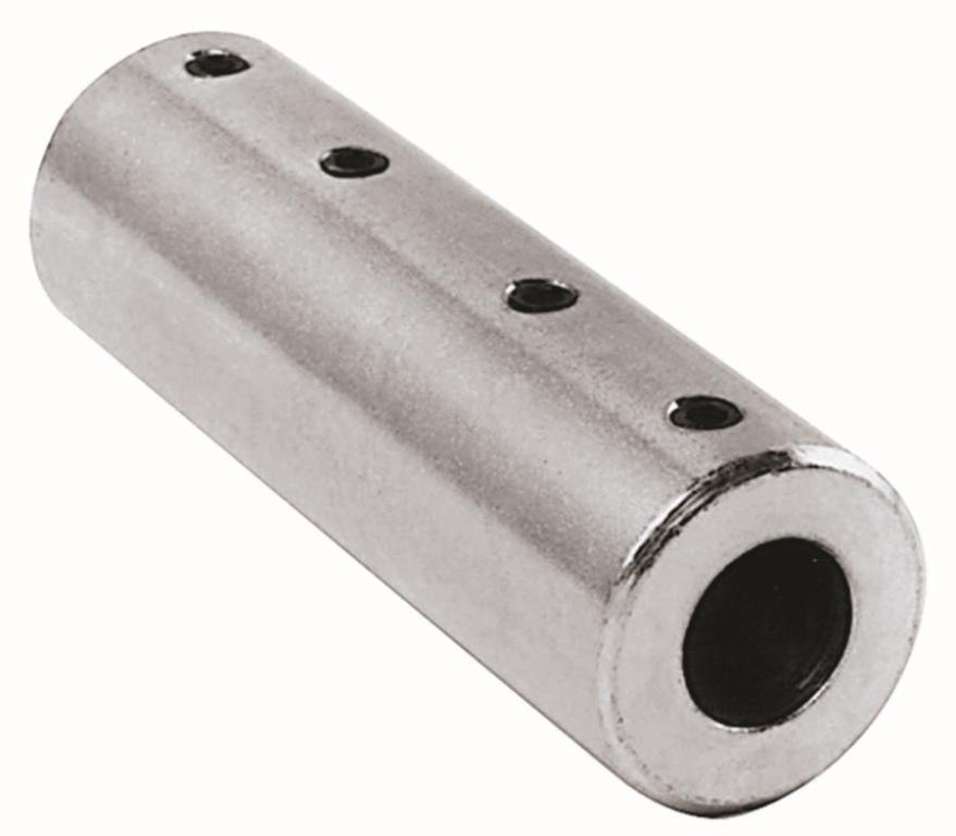 "3/8"" x 3/8"" Stainless Steel Coupler"